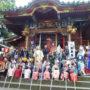王子稲荷神社に初穂奉納参拝